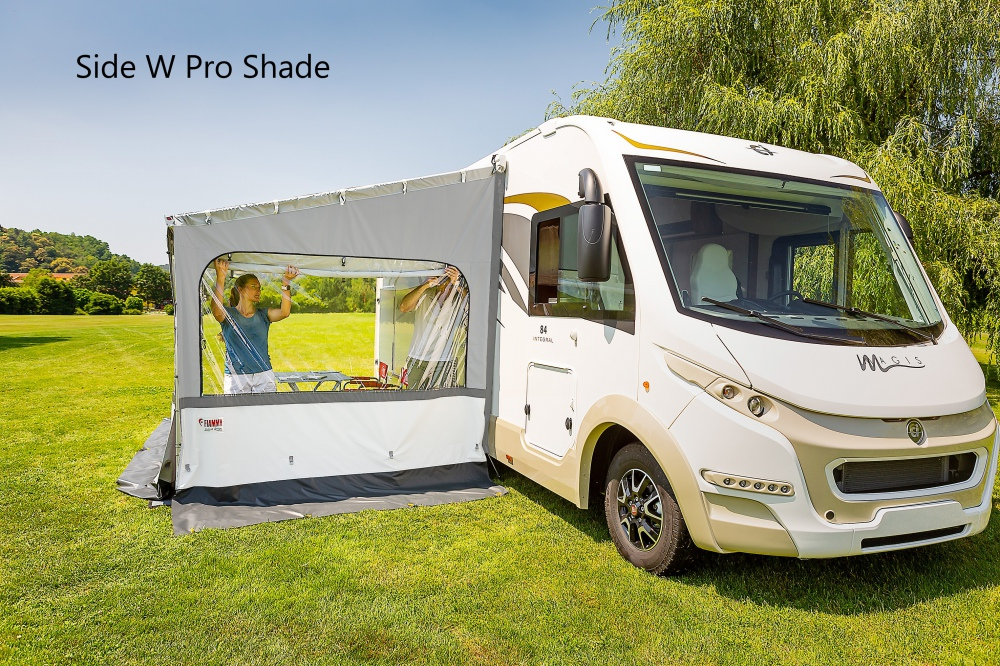 Fiamma Side W Pro Shade Panel For F45 Amp F65 Type Awnings